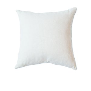 Soft White Linen Cushion