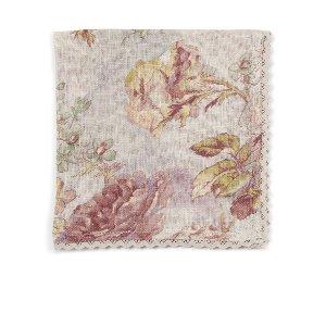 Plum Rose  Linen Napkin