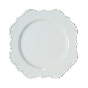 Pale blue salad/dessert plate