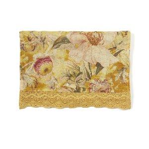 Golden Autumn Linen Runner