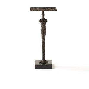 Henri- Black Iron & Marble Table