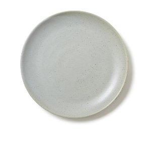 Gray/Blue Artisanal Dinner Plate
