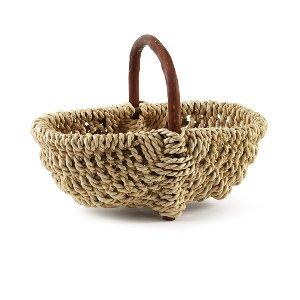 Basket- Blonde/Dark Handle