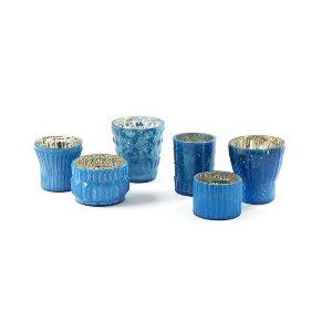 Marine Blue Votive Collection