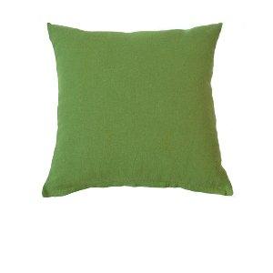 Grass Green Linen Cushion