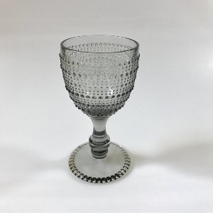 Gray dot goblet