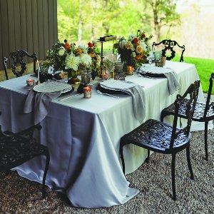 Black Iron Dining Set- outdoor