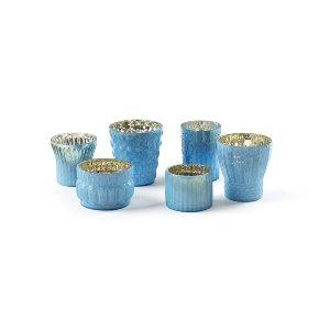 Sky Blue Votive Collection