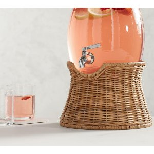 Woven Beverage Dispenser Stand