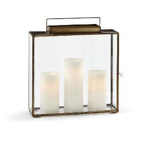 Stanley Brass & Glass Lantern