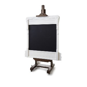 Veronica- Vintage White Chalk Board