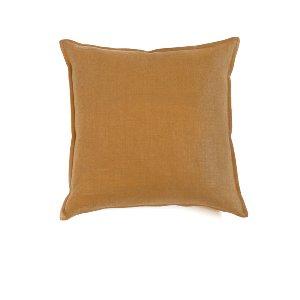 Golden Wheat Linen Cushion
