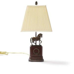 Dressage- Equine Wood Lamp