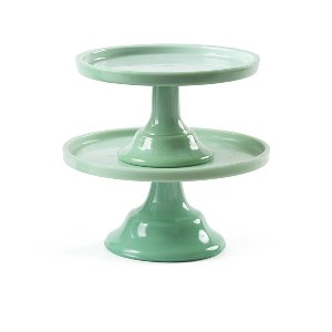 Classic Green Cake Stand- Small