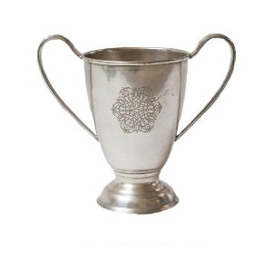 Small Silver Trophy Vase
