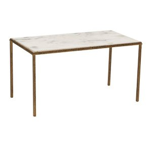 Luxe- Hammered Gold Cocktail Table