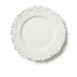 English Ivy Dinner Plate- Ivory