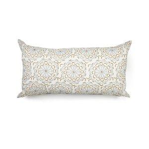 Gold/Silver/White Modern Cushion