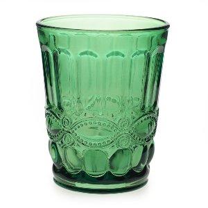 Emerald Glass Votive