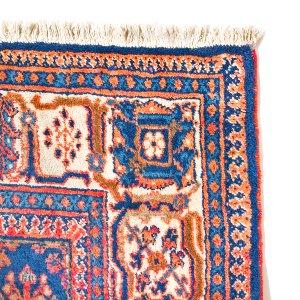 Caramel, Blush & Blue  Persian Area Rug