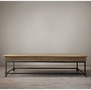 Gregory- 1850 French Oak Coffee Table