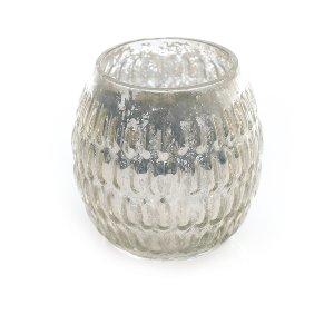 Graceful Mercury Glass- Round