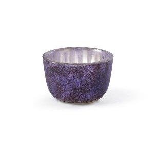 Mini Tealight Bowl/Votive- Lilac/Purple