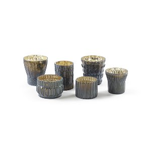 Charcoal Gray Votive Collection