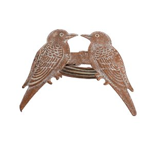 Copper/Bronze Lovebird Napkin Ring