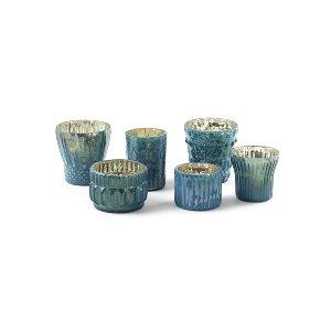 Sage Blue Votive Collection