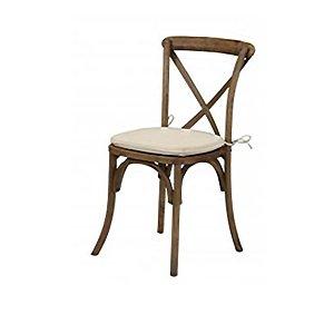 Vineyard- Wood X-Back Chair