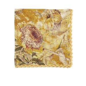 Golden Autumn  Linen Napkin
