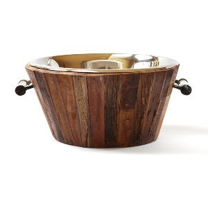 Wood Beverage Bucket