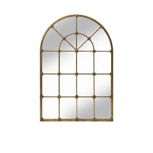 Jessy- Gold Palladian Mirror
