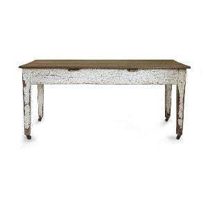 Vinnie- Vintage Wood Harvest Table