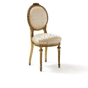 Jacqueline- Antique Louis XVI Guilded Chair