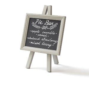 Small Gray Chalkboard Sign