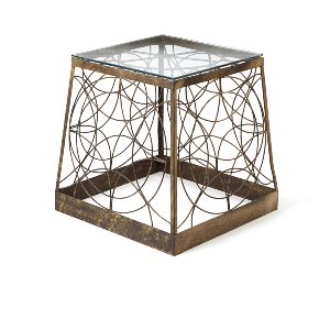 Deana- Vintage Wire Pedestal Base