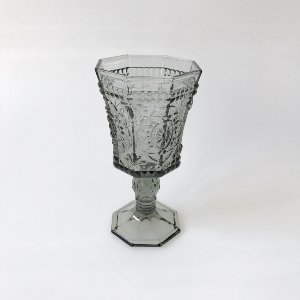Gray shaped goblet