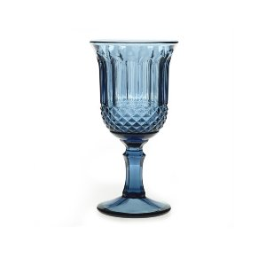 Smokey Blue Goblet