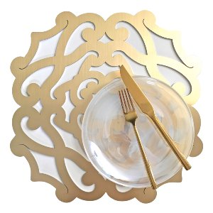 Salone Placemat- Gold