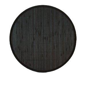 Black Bamboo Placemat