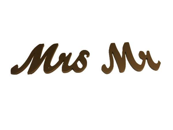 Gold Mr. & Mrs.