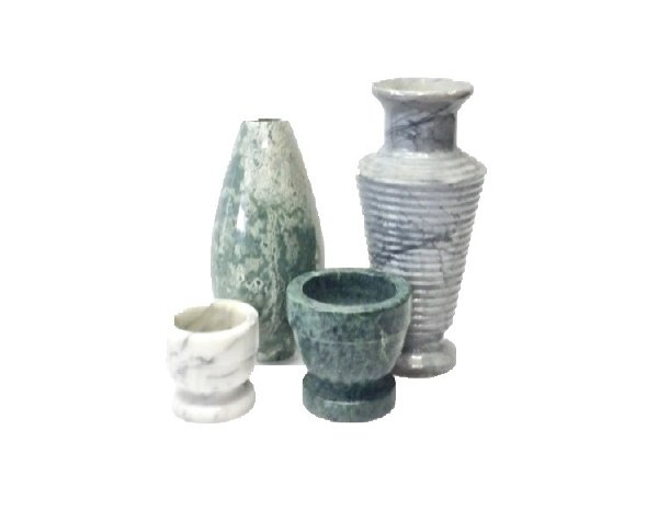 Marble Vase Set