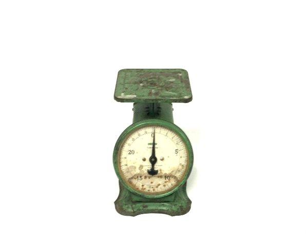 Teal Vintage Scale