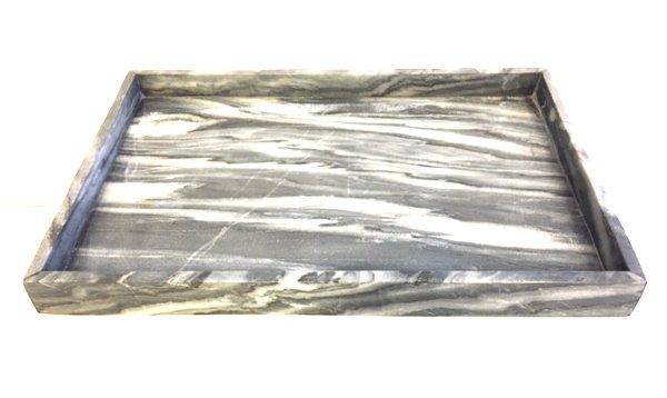 Grey Marble Tray