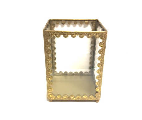 Gold and Glass Box