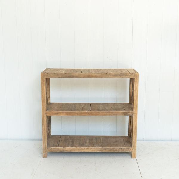 Rustic Wooden Shelf Display