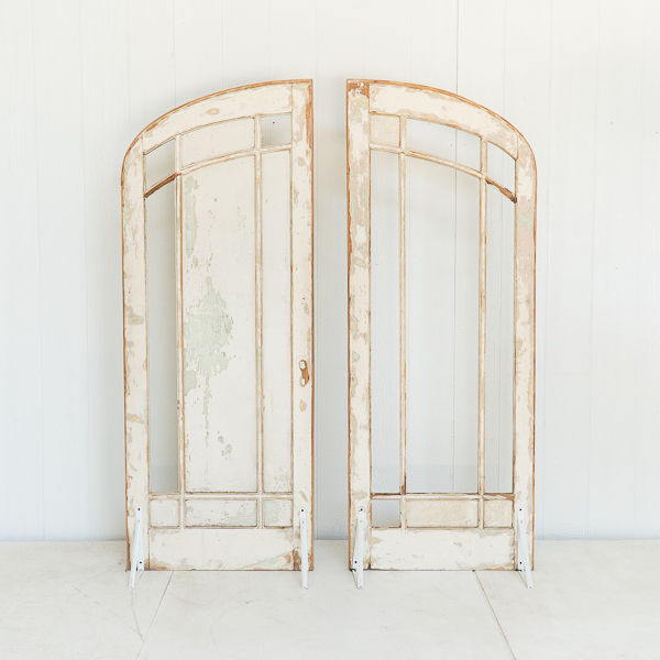 Shabby Chic Arched Doors
