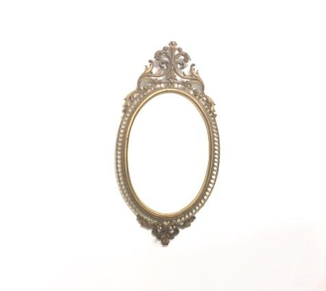 Medium Ornate Mirror